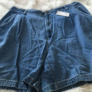 St. John's Bay Denim Shorts.